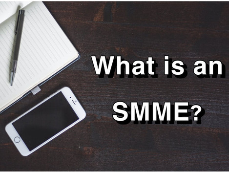 What is an SMME?
