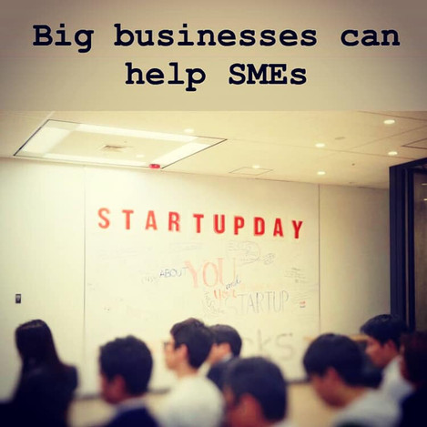 Big Businesses Can Help SMEs