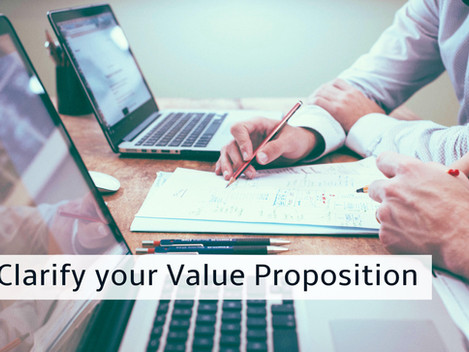 Growth strategy- Clarify your value proposition