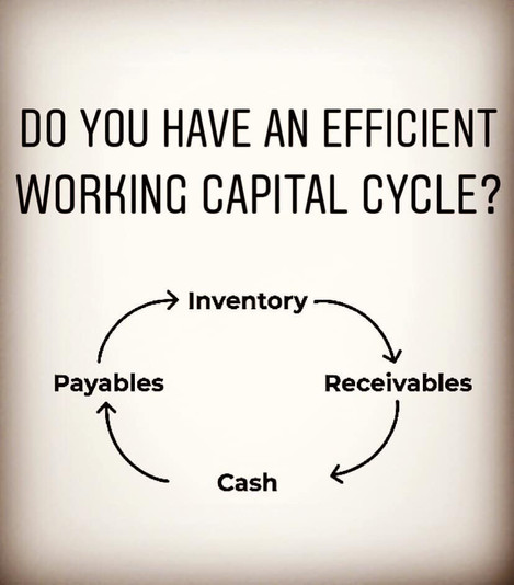 Do you have an efficient working capital cycle?