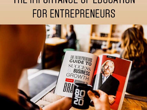 The Importance of Education for Entrepreneurs
