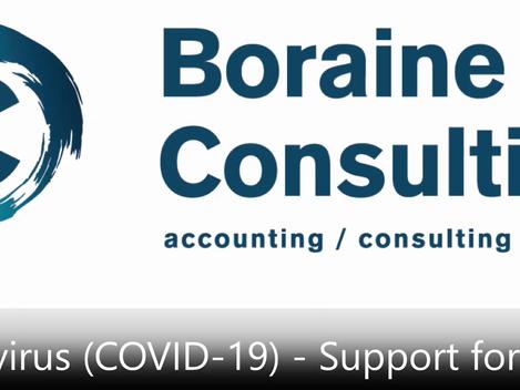 Coronavirus (COVID-19) - Support for SMMEs