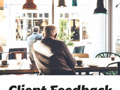 The importance of asking clients for feedback