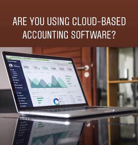 Are you using cloud-based accounting software for your business?