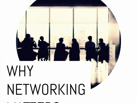 Why networking matters