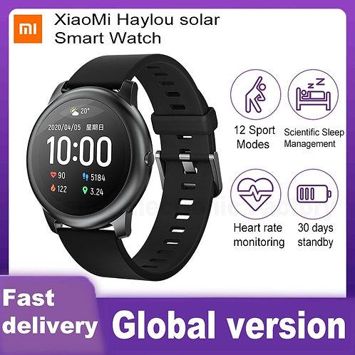 XiaoMi Solar Smart Watch Waterproof Sport Fitness Sleep Heart Rate Monitor