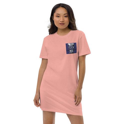 Organic Cotton T-Shirt Dress 4 Colours