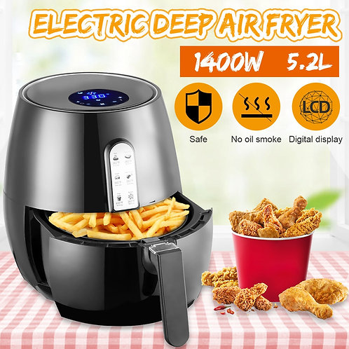 Health Fryer Cooker Smart Touch LCD Airfryer Multi Function  Fryer