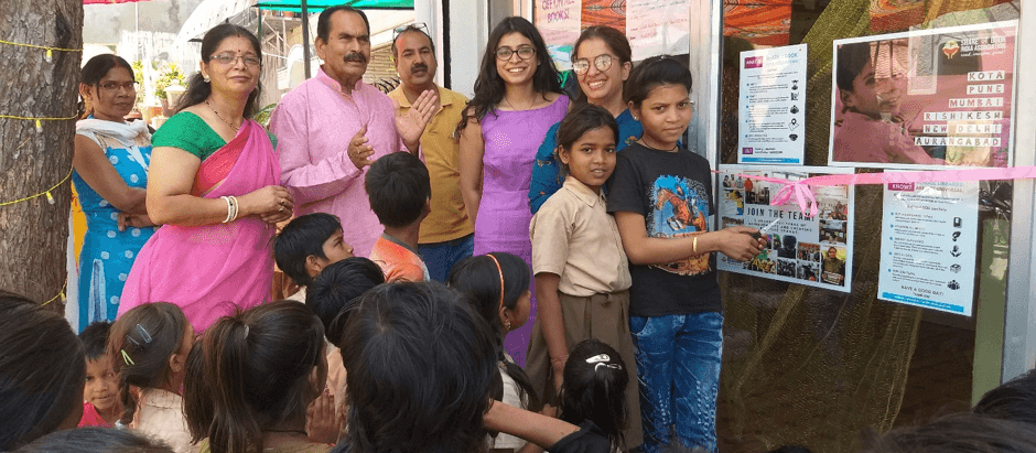 Reading for the masses – SABIA opens its first not-for-profit community library!