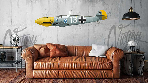 Heinz Bär's Bf 109E during the Battle of Britain