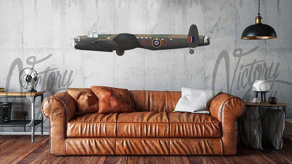 Lancaster Mk III type 464 provisioning, F/S Townsend, No 617 Squadron RAF