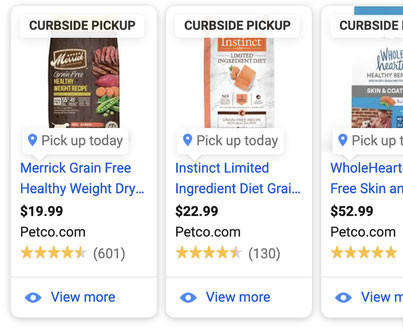 Feature Curbside Pickup in Your Google Shopping Local Inventory Ads