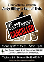 Sun of Elvis Poster Sept 2019 - CANCELLE