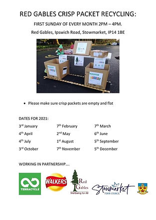 Crisp Packets Recycling Flyer