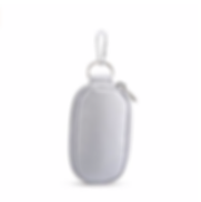 Silver Keychain Carrying Case for 2mL bo