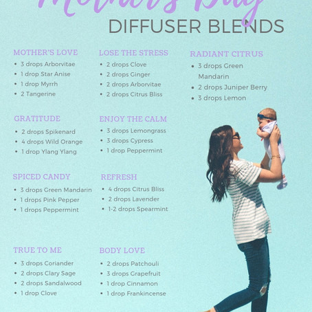 MOTHER'S DAY DIFFUSER BLENDS