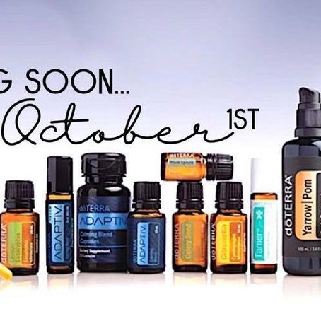 New doTERRA Products are HERE