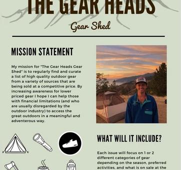 The Gear Head's Gear Shed