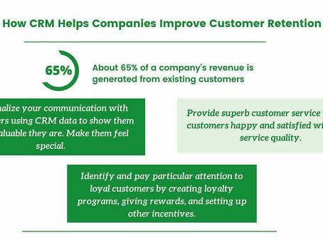 3 Ways How CRM Helps Companies Improve Customer Retention