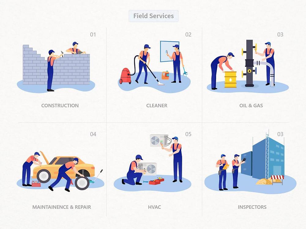 Benefits of Field Service Lightning