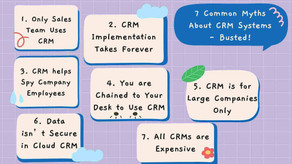 7 Common Myths About CRM Systems - Busted!