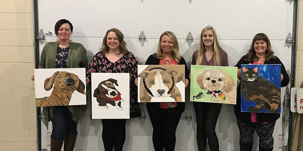 SOLD OUT - Paint Your Pet