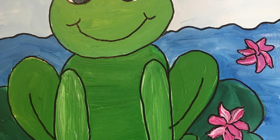 Frog Prince Paint Together