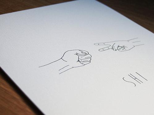 Shi Fu Mi - Illustration 3x A4