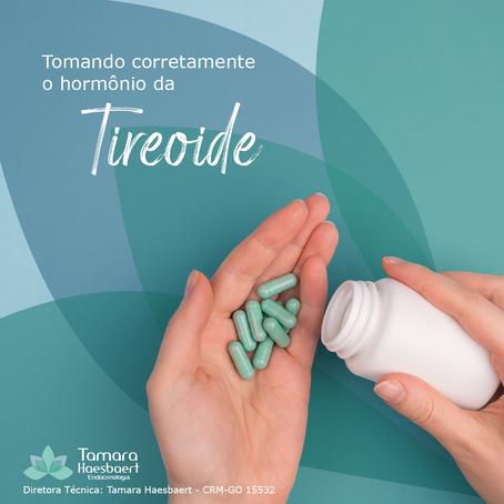 Tomando corretamente o hormônio da Tireóide