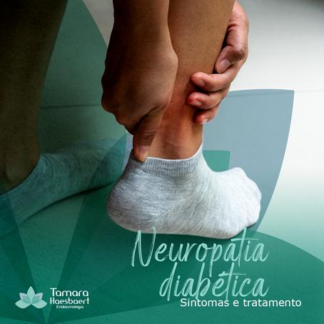 Neuropatia diabética: Sintomas e tratamento