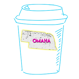 Omaha Nebraska Coffee Cup - Location Pag