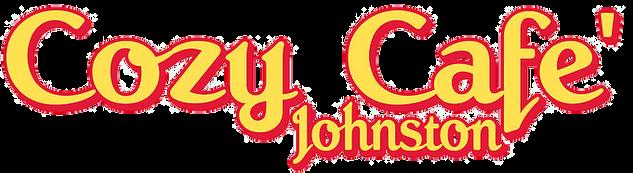 cozy cafe johnston logo - transparent.pn