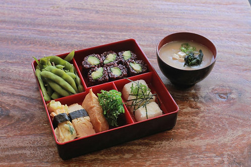 Vegetarian Sushi Bento
