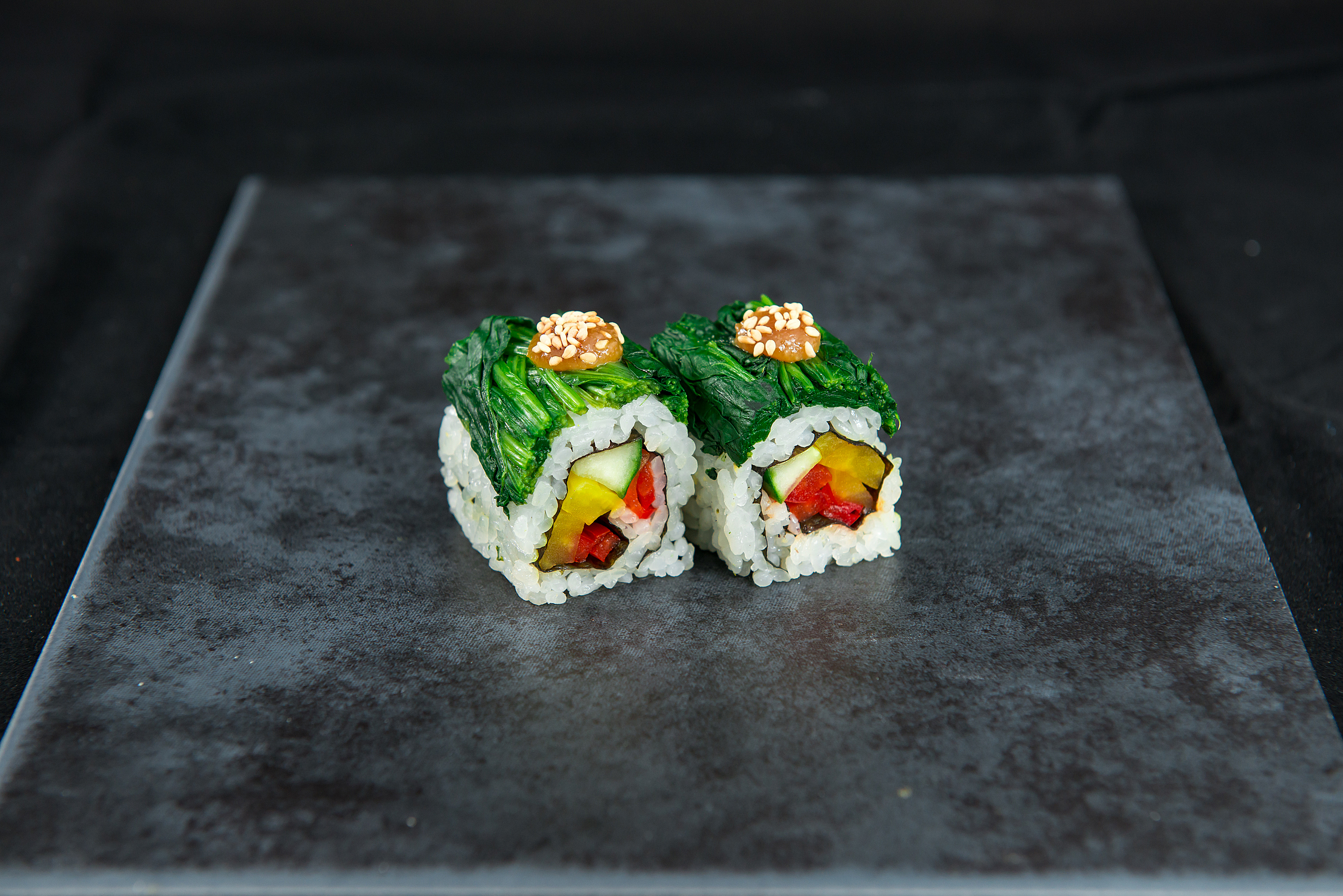 Vegetarian Spinach Roll