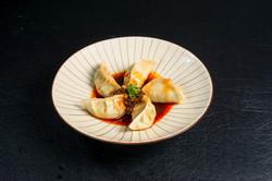 Spicy Vinegar Pork Gyoza