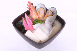 Mixed Seafood Miso Soup