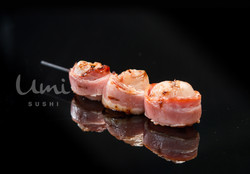 Bacon with Lychee