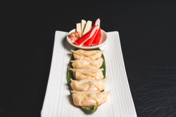 Cream Cheese Crabmeat Potato Gyoza