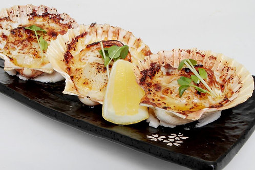 Flame Grilled Cheese Scallop (3 pieces)