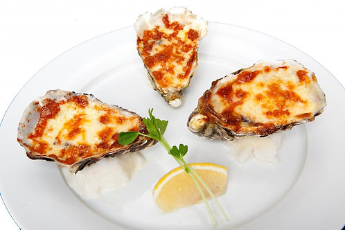 Grilled Cheese Oysters 3 Pieces