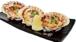 Flame Grilled Cheese Scallop