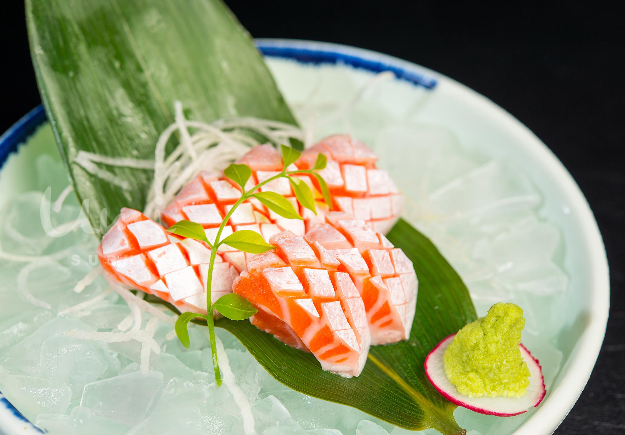 Salmon Belly Sashimi