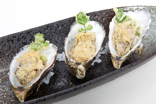 Tempura Oysters 3 pieces