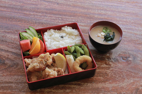 Karrage Chicken Bento