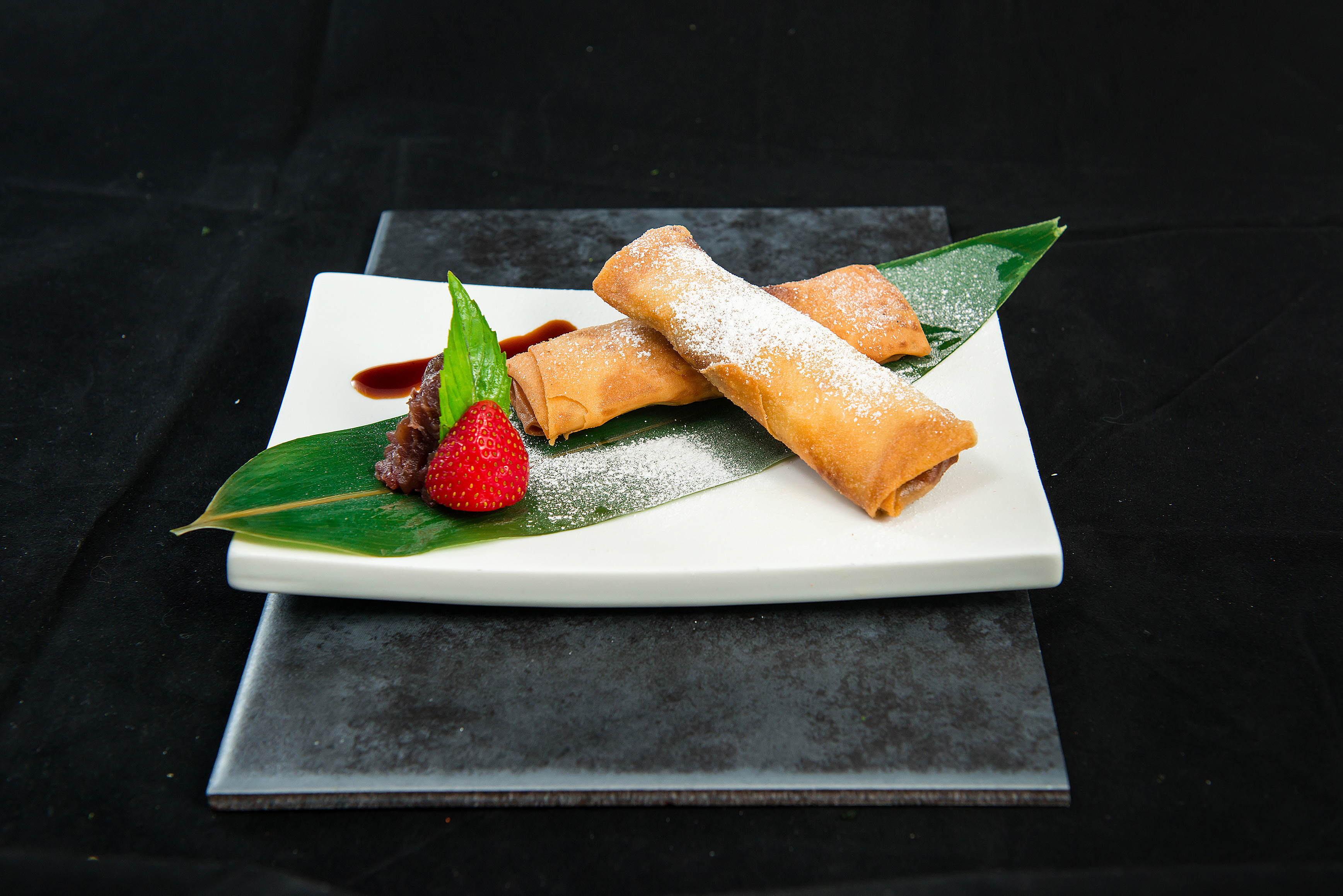 Banana Chocolate Spring Roll