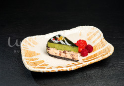 Matcha & Azuki Mousse Cake