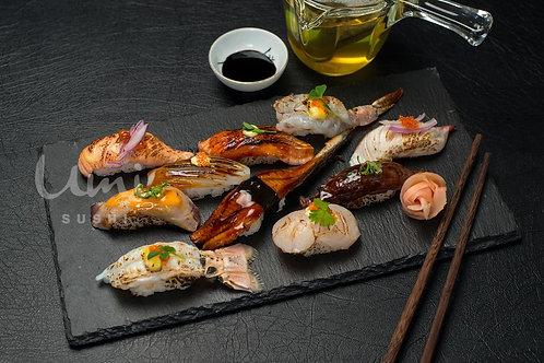 Seared Nigiri Sushi Combo