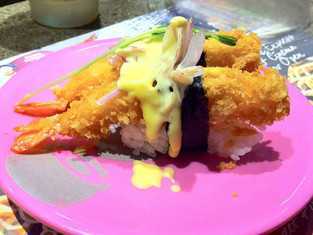 Favorite sushi train in Sydney - Umi Kaiten Zushi