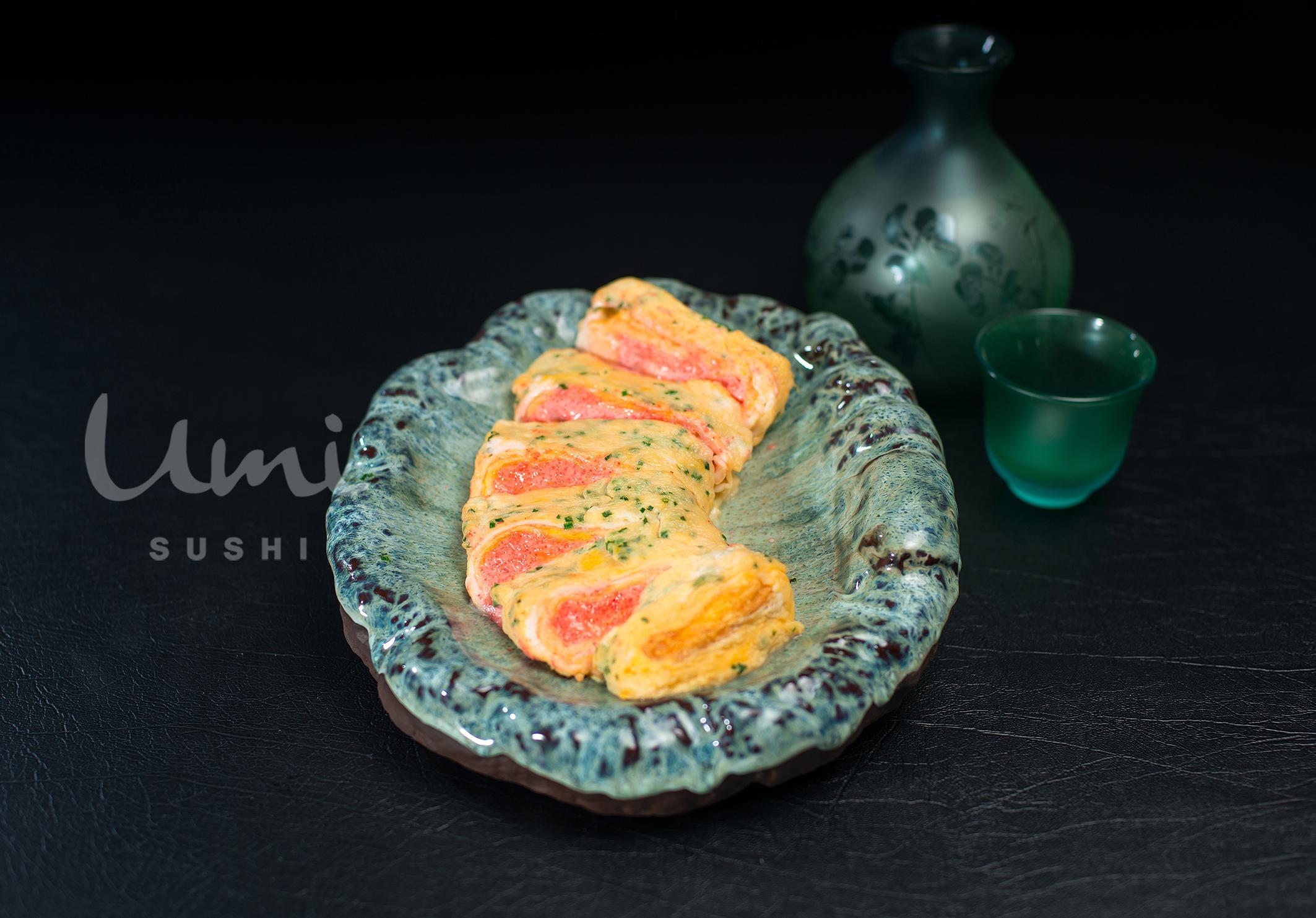 Mentaiko Omelette