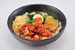 Spicy Kimchi Pork Udon